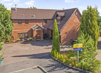 Thumbnail 4 bed detached house for sale in Shielhill Park, Stanley, Perth