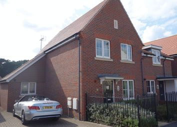 Thumbnail 3 bed terraced house for sale in Damson Drive, Hartley Wintney, Hook