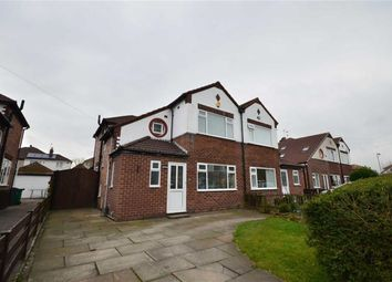 Thumbnail 3 bed semi-detached house to rent in Granville Gardens, Didsbury, Manchester, Greater Manchester