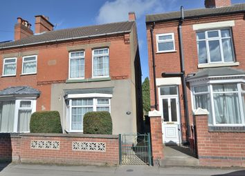 Thumbnail 3 bed semi-detached house for sale in Highfield Street, Hugglescote, Coalville