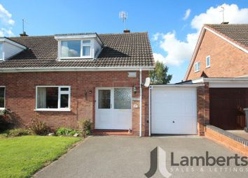 Thumbnail 2 bed semi-detached house for sale in Churchway Piece, Inkberrow, Worcester