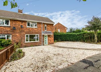 Thumbnail 2 bed semi-detached house for sale in Scampton Avenue, Lincoln, Lincolnshire