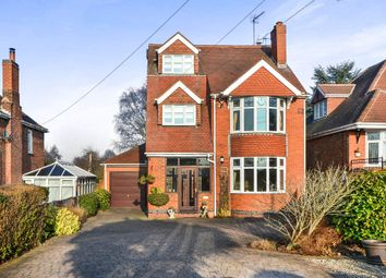 Thumbnail 4 bed detached house for sale in Brinsley Hill, Jacksdale, Nottingham