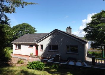 Thumbnail 3 bed detached bungalow for sale in Skeabost Bridge, Portree