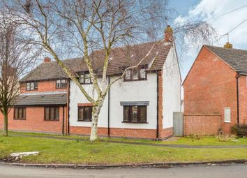 Thumbnail 3 bed semi-detached house for sale in Main Street, Bushby, Leicester, Leicestershire