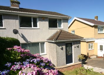 Thumbnail 3 bed semi-detached house for sale in Ael-Y-Bryn, Penclawdd, Swansea