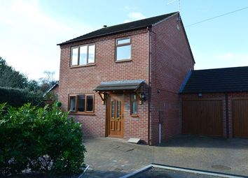 Thumbnail 3 bed detached house for sale in Smithfield Close, Market Drayton