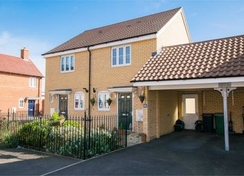Thumbnail 2 bed semi-detached house for sale in Wall Mews, Colchester, Essex