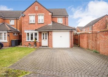 Thumbnail 3 bed detached house for sale in Lotus Court, Lincoln