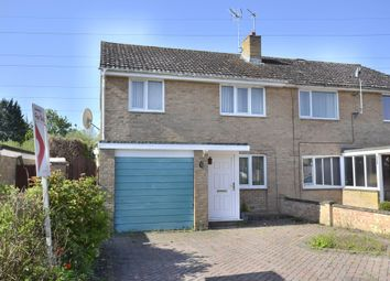 Thumbnail 3 bed semi-detached house for sale in Meadow Close, Farmoor, Oxford