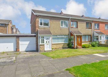 Thumbnail 3 bedroom terraced house for sale in Doddington Drive, Cramlington