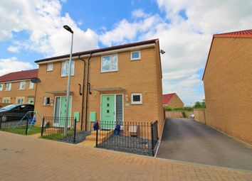 Thumbnail 2 bed semi-detached house for sale in Thistle Close, Emersons Green, Bristol