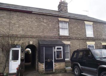 Thumbnail 3 bedroom terraced house for sale in Station Road, Elmswell, Bury St. Edmunds