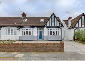 Thumbnail 4 bed semi-detached house for sale in Crossway, Enfield