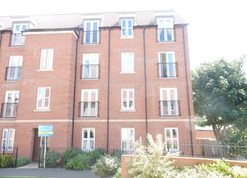 Thumbnail 2 bed flat for sale in Vicarage Walk, Clowne, Chesterfield