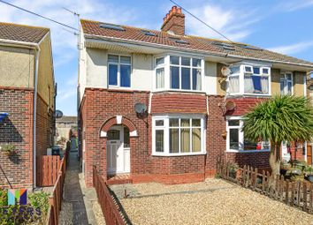 Thumbnail 3 bed flat for sale in Knightsdale Road, Weymouth