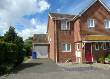 Thumbnail 3 bed semi-detached house for sale in Woodpecker Drive, Iwade, Iwade, Kent