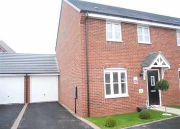 Thumbnail 3 bed town house to rent in Triumph Road, Hinckley