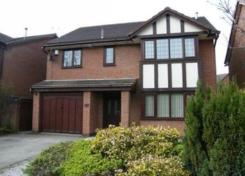 Thumbnail 4 bed detached house to rent in Goldcliff Close, Callands, Warrington