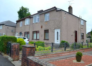 Thumbnail 2 bed flat for sale in Castlemilk Crescent, Croftfoot, Glasgow
