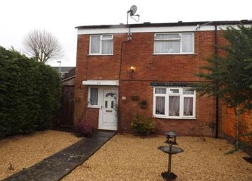 Thumbnail 3 bedroom end terrace house for sale in Spenser Walk, Catshill, Bromsgrove
