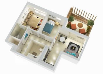 Thumbnail 2 bed apartment for sale in West One, Eurotowers, Gibraltar, Gibraltar
