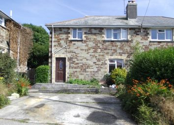 Thumbnail 3 bed semi-detached house for sale in St. Marys Road, Bodmin, Cornwall