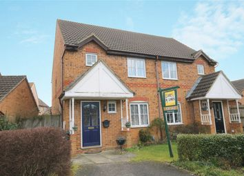Thumbnail 3 bed semi-detached house for sale in Asgard Drive, Bedford