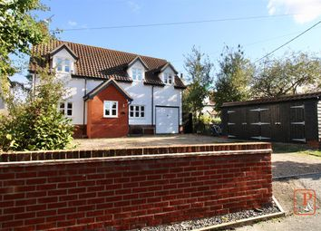 Thumbnail 4 bed detached house for sale in Church Lane, Kirton, Ipswich, Suffolk