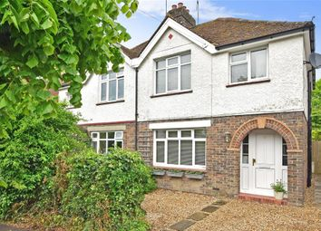 Thumbnail 3 bed semi-detached house for sale in Knole Grove, East Grinstead, West Sussex