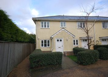 Thumbnail 3 bedroom end terrace house to rent in West Wickham Road, Balsham, Cambridge