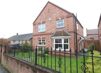 Thumbnail 3 bed detached house for sale in Station Road, Hatfield, Doncaster, South Yorkshire