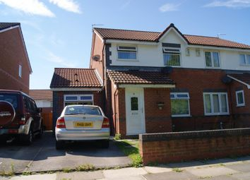 Thumbnail 3 bed semi-detached house to rent in Kings Drive, Gateacre, Liverpool