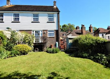 Thumbnail 3 bed semi-detached house for sale in High Street, Upnor, Rochester