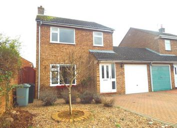 Thumbnail 3 bed link-detached house for sale in Fife Close, Stamford, Lincolnshire, .