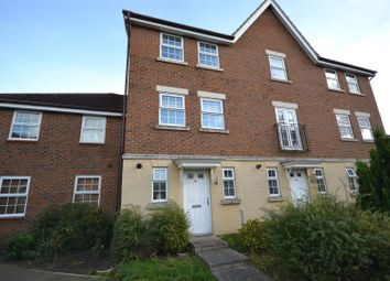 Thumbnail 3 bed town house for sale in Abbey Road, Wymondham