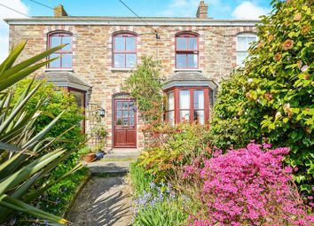 Thumbnail 3 bed end terrace house for sale in Headland Terrace, Top Hill, Grampound Road, Truro