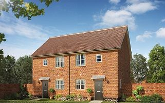 Thumbnail 2 bedroom end terrace house for sale in Butterfield Meadow, Hunstanston, Norfolk