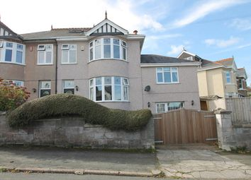Thumbnail 5 bed semi-detached house for sale in Hanover Close, Efford Lane, Plymouth