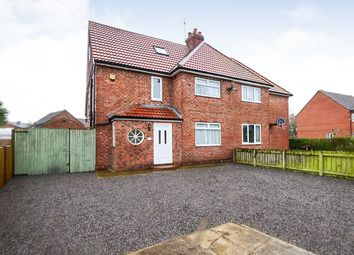 Thumbnail 5 bedroom semi-detached house for sale in Northfields, Strensall, York