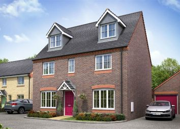 Thumbnail 5 bedroom detached house for sale in Dragonfly Meadow, Pineham, Northamptonshire