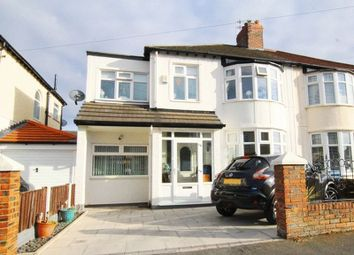 Thumbnail 4 bed semi-detached house for sale in Halkirk Road, Allerton Liverpool