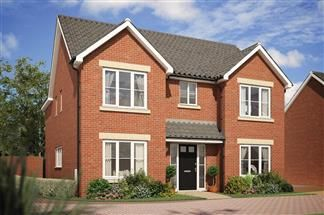 Thumbnail 4 bed detached house for sale in Headlands Grove, Swindon