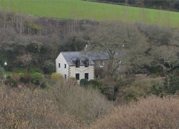 Thumbnail 4 bed detached house for sale in Maenporth Road, Maenporth, Falmouth