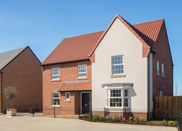 "Thumbnail 5 bed detached house for sale in ""Manning"" at Stoke Road, Poringland, Norwich"