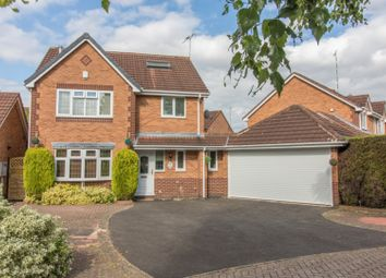 Thumbnail 5 bed detached house for sale in Otter Way, Leicester