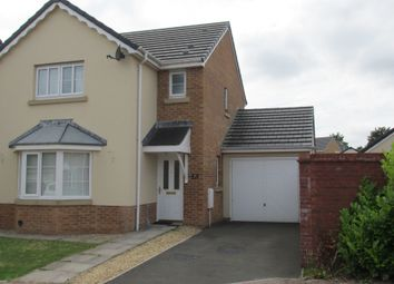 Thumbnail 3 bed detached house for sale in Heol Banc Y Felin, Gorseinon, Swansea