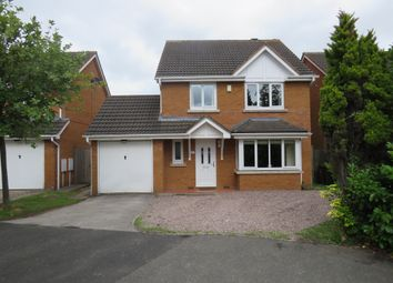 Thumbnail 4 bed detached house for sale in Alexander Close, Fradley, Lichfield