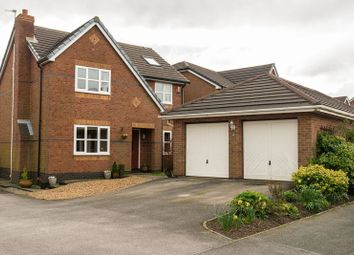 Thumbnail 5 bed detached house for sale in Copeland Drive, Standish, Wigan