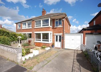 Thumbnail 3 bed semi-detached house for sale in Hillside Avenue, Kirkham, Preston
